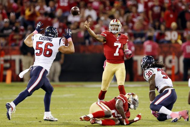 Houston Texans vs. San Francisco 49ers: Texans Preseason Week 4 Game Preview