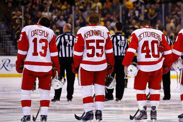 Ranking the 5 Most Important Players on the Detroit Red Wings Roster