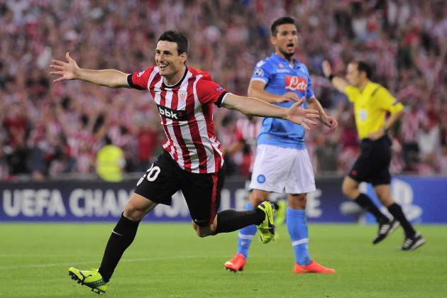 Athletic Bilbao vs. Napoli: Winners and Losers from Champions League Qualifier