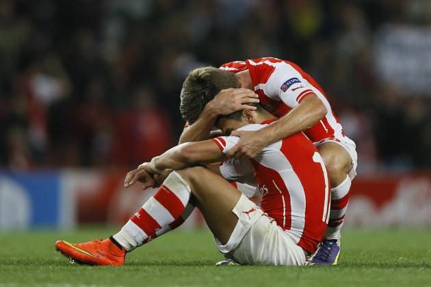 Arsenal vs. Besiktas: Winners and Losers from Champions League Game