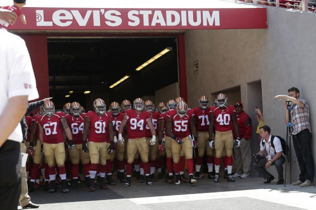 San Francisco 49ers: Evaluating the Depth Chart Before the 53-Man Cut
