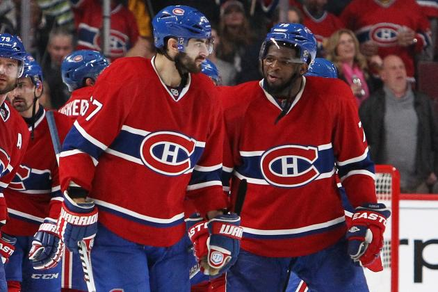 Predicting the Statistical Leaders for the Montreal Canadiens in 2014-15