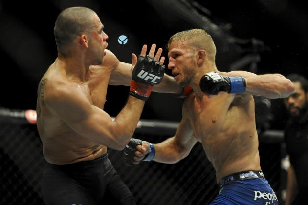 UFC 177: TJ Dillashaw vs. Renan Barao 2 Main Card Betting Odds and Predictions