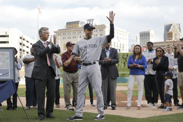 Top 5 Memories for Derek Jeter in Detroit