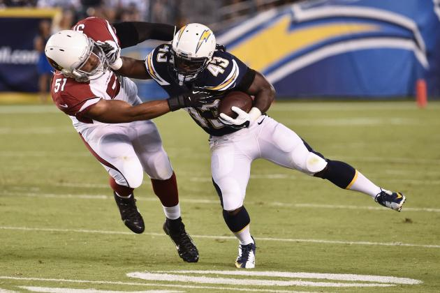 San Diego Chargers: Immediate 53-Man Roster-Cut Predictions Post-Cardinals Game