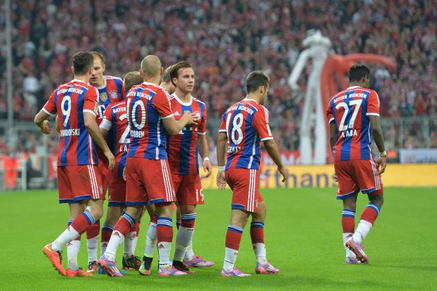 Bayern Munich: Full Report Card for Every Position for August