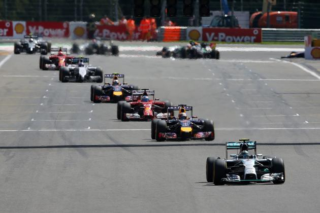 Power Ranking the Formula 1 Teams After 2014 Belgian Grand Prix