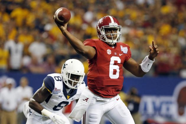 Grading New College Football Starting QBs' Week 1 Performances