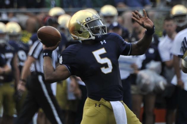 Notre Dame Football: Report Card Grades for Every New Starter