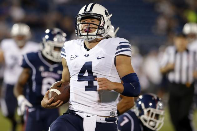 BYU Football: 4 Lessons Learned from Blowout Win over UConn