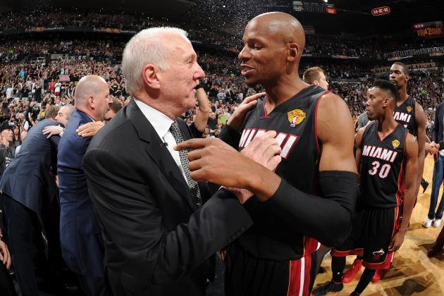 Where's the Best Free-Agent Destination for Ray Allen to Finish His NBA Career?