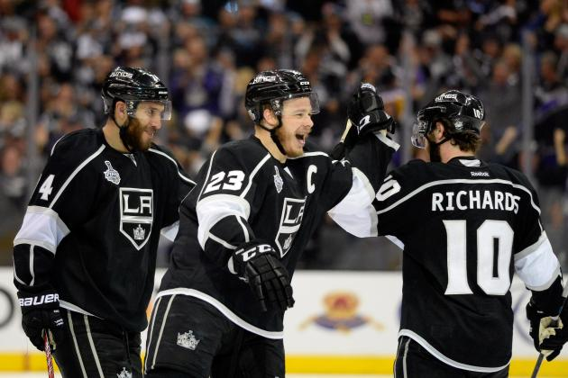 Top 5 Los Angeles Kings Training Camp Battles to Watch in 2014