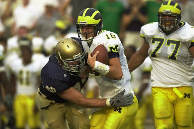 Notre Dame Football: The 10 Best Games in the Michigan-Notre Dame Rivalry