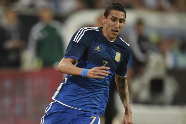 Ranking Angel Di Maria's Best International Performances for Argentina