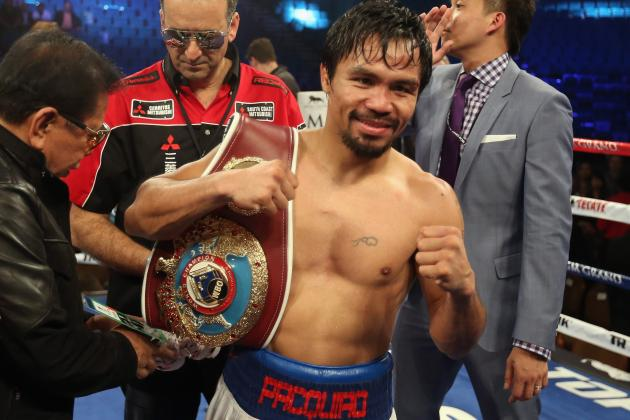 Ranking the Top Candidates to Fight Manny Pacquiao in 2015