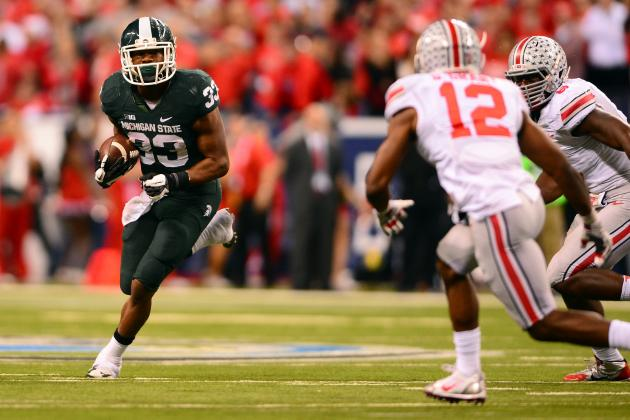 No. 14 Ohio State at No. 8 Michigan State