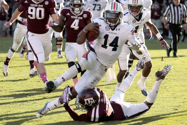 Texas A&M at No. 3 Auburn