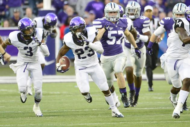No. 7 Kansas State at No. 6 TCU
