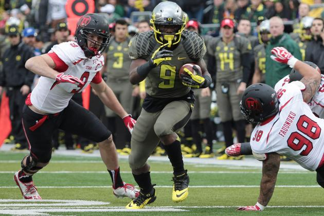 No. 4 Oregon at No. 17 Utah