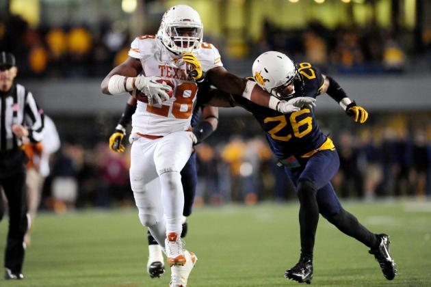No. 23 West Virginia at Texas