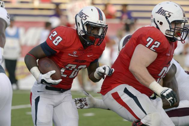 Texas State at South Alabama