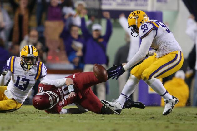 No. 17 LSU at Arkansas
