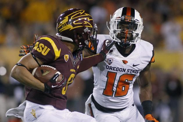 No. 6 Arizona State at Oregon State