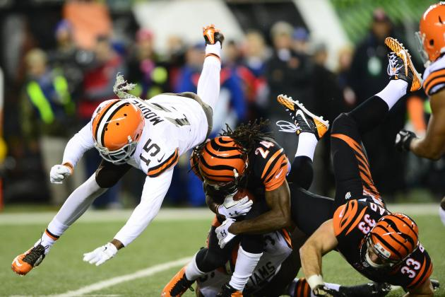 Davis Pick No. 2: Cincinnati Bengals/Cleveland Browns Total: Under 44 Points