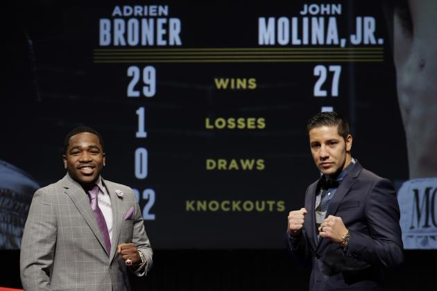 5. Adrien Broner vs. John Molina