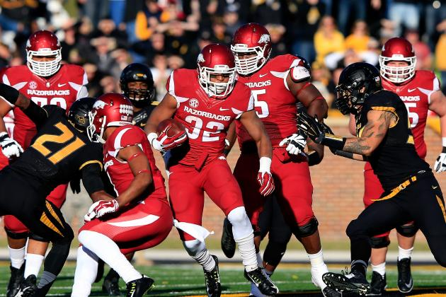 5. Arkansas Running Backs