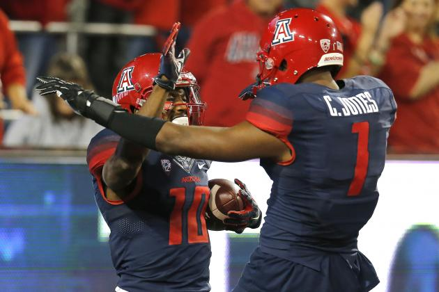 25. Arizona Wide Receivers