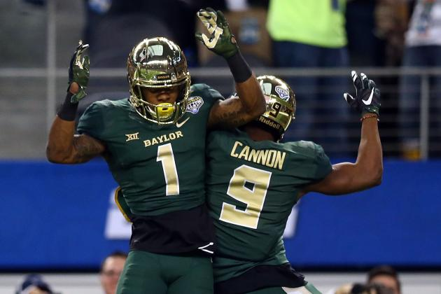 7. Baylor Wide Receivers
