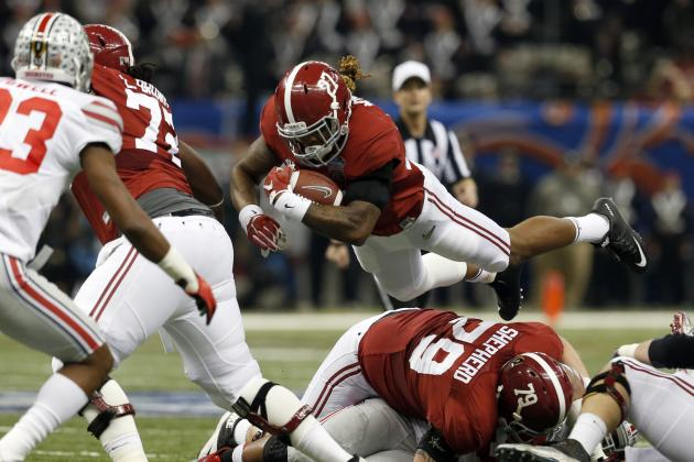 17. Alabama Running Backs