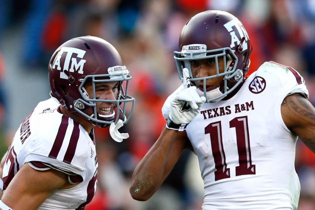 10. Texas A&M Wide Receivers