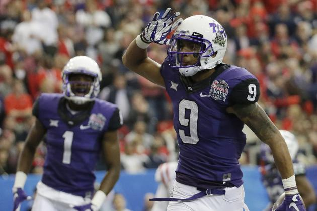 15. TCU Wide Receivers