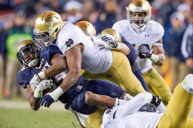 19. Notre Dame Linebackers