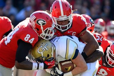 14. Georgia Linebackers