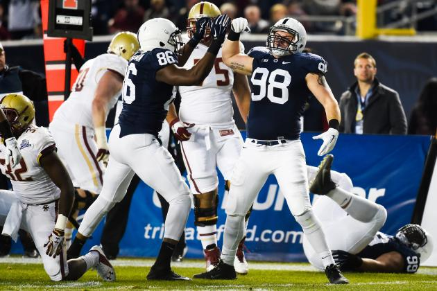 21. Penn State Defensive Line