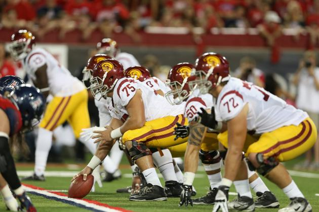 9. USC Offensive Line