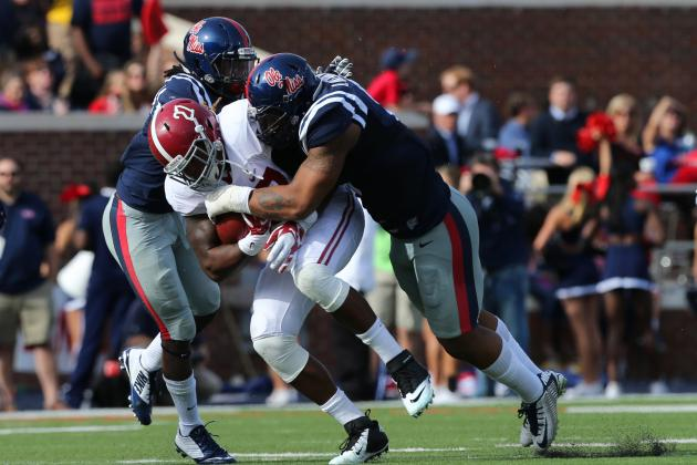 6. Ole Miss Defensive Line
