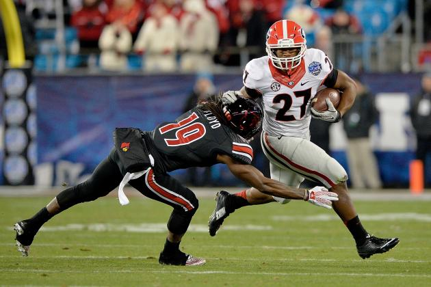 2. Georgia Running Backs