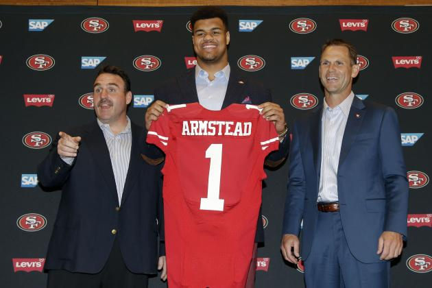 NFL Jerseys Nike - San Francisco 49ers: The Best Players in 2015 from Each Draft ...
