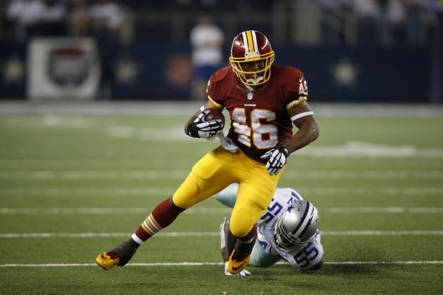 Alfred Morris, Washington Redskins: $5,500