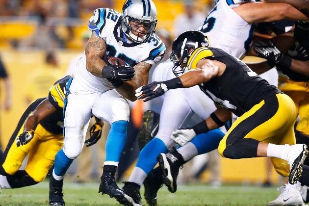 NFL Jersey's Women's Carolina Panthers Brandon Wegher Pro Line Team Color Jersey
