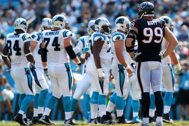 Wholesale NFL Jerseys - Texans vs. Panthers: Carolina Grades, Notes and Quotes | Bleacher ...