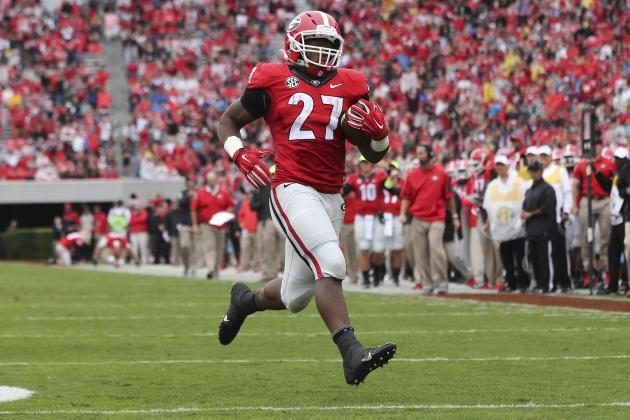 Alabama at Georgia