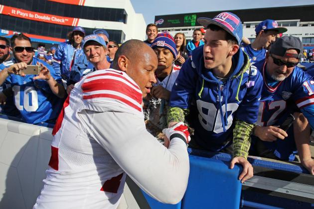 NFL Jerseys Outlet - New York Giants Week 5 Stock Report | Bleacher Report