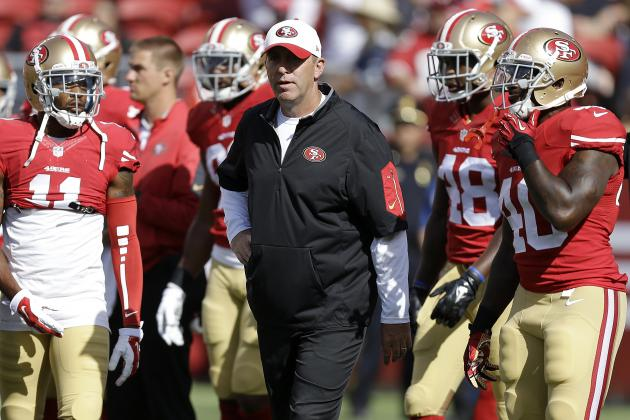 NFL Jerseys NFL - 6 Burning Questions Facing the San Francisco 49ers in Week 6 ...