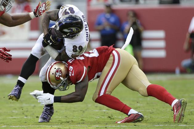 Wholesale NFL Jerseys - San Francisco 49ers Week 7 Stock Report | Bleacher Report