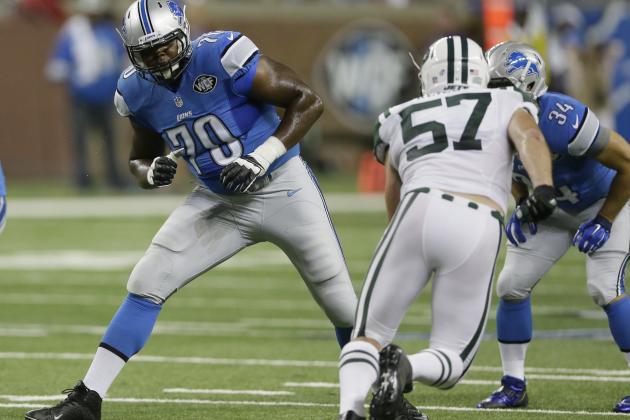 Cheap NFL Jerseys NFL - Detroit Lions: Midseason Rookie Progress Report   Bleacher Report